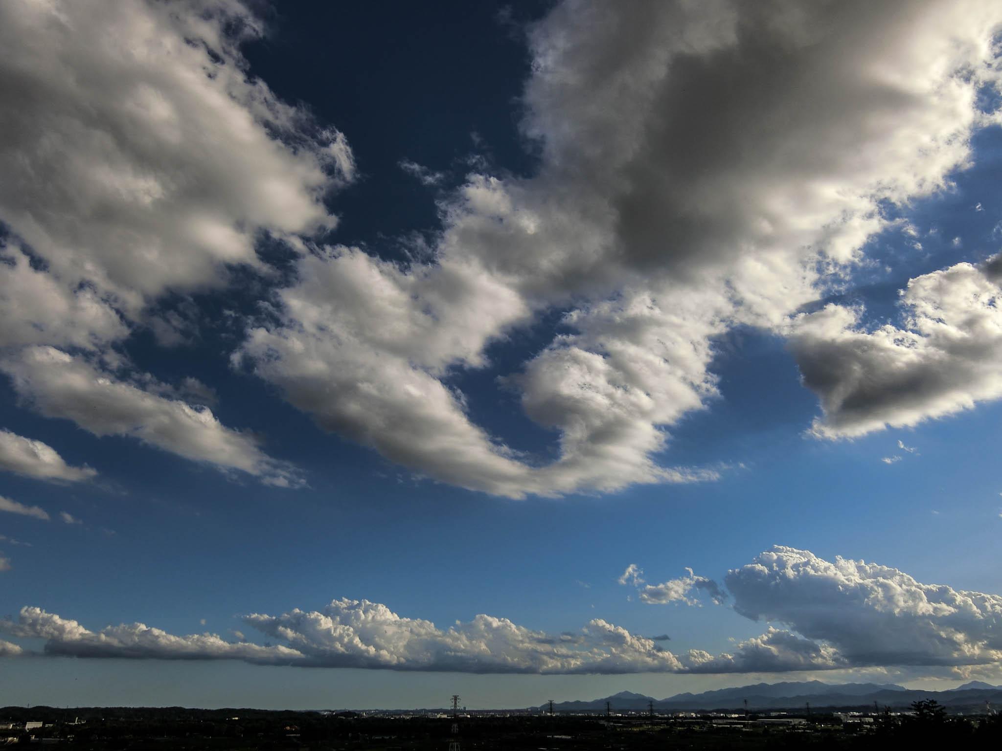 桜山展望台 雲景